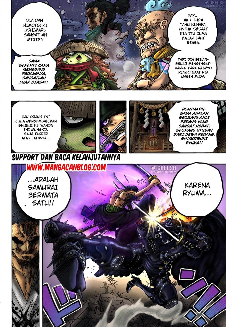 Manga One Piece Chapter 1023 Bahasa Indonesia