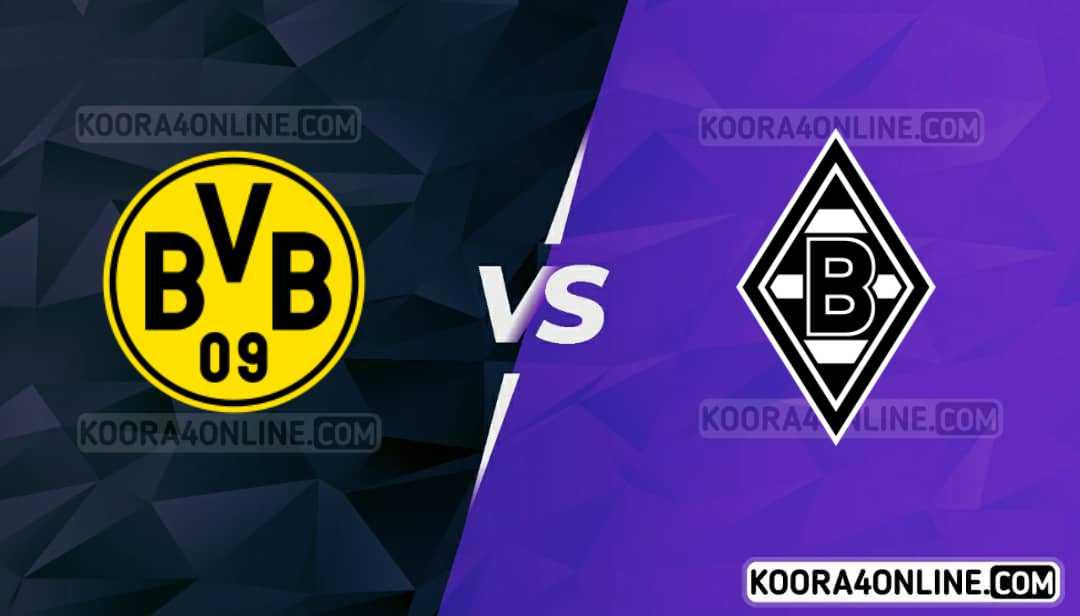مشاهدة مباراة بروسيا مونشغلادبخ وبروسيا دورتموند القادمة كورة اون لاين بث مباشر اليوم 25-09-2021 في الدوري الألماني
