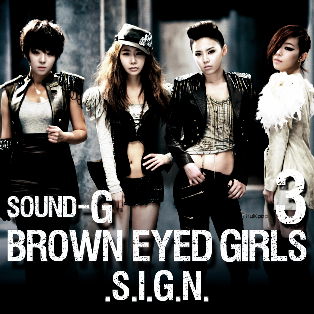 [EP] Brown Eyed Girls – Sound-G Sign (FLAC)
