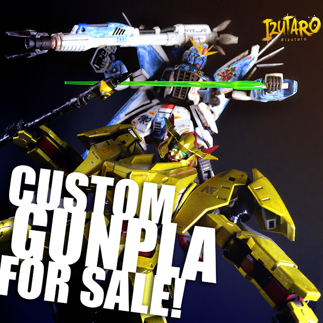 Izutaro Premium: Custom Gunpla for sale OCT 2018