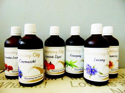 Naturalne oleje tłoczone na zimno Miramar- Naturalny-Olej.com.pl
