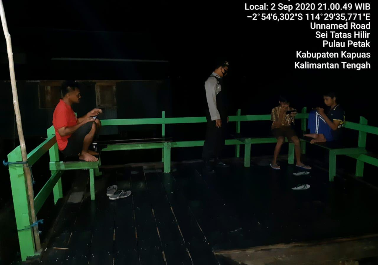 Polsek Pulau Petak Lakukan Patroli Di Jam Rawan Malam