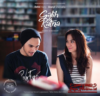 Film Novel, Film Novel Indonesia, Review Filem Galih dan Ratna
