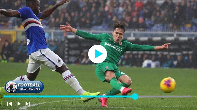 Sampdoria vs Fiorentina – Highlights