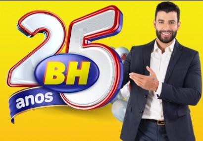 Cadastrar Aniversário 25 Anos BH Supermercados
