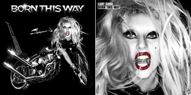 Capas do álbum Born This Way de Lady Gaga, músicas sobre aceitação.