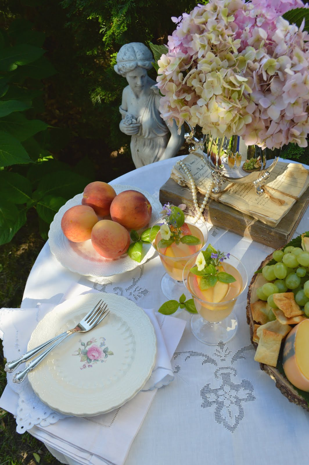 Romantic Homes Magazine Article - 5 Tips For Intimate and Effortless Garden Entertaining