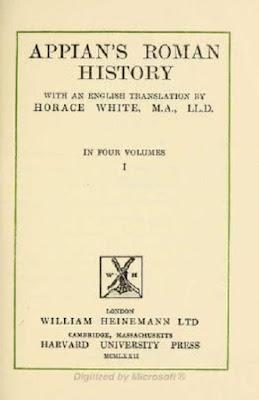 Appian's Roman history Free PDF book