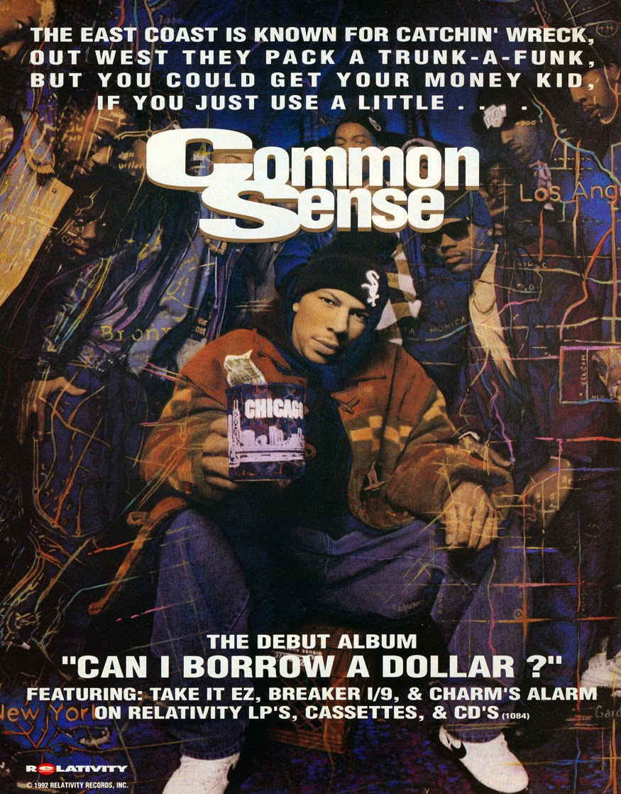 Can I Use A Computer During A Storm: HipHop-TheGoldenEra: Album Review : Common Sense