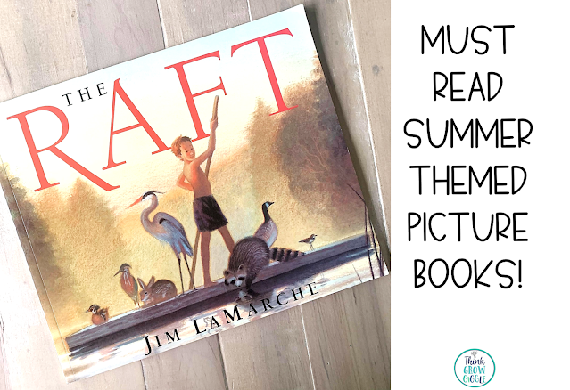 the raft read aloud picture book