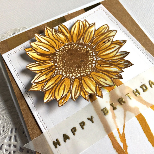 Stamped_birthday_card_sunflower