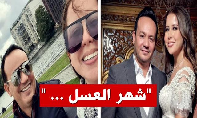 صور علاء الشابي وريهام بن عليّة في شهر العسل  alaa chebbi avec rihem ben alaya instagram