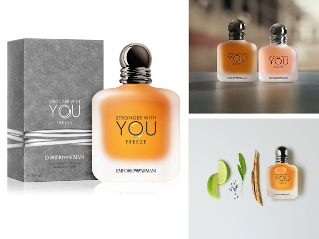 Новинка: Armani Emporio Stronger With You Freeze