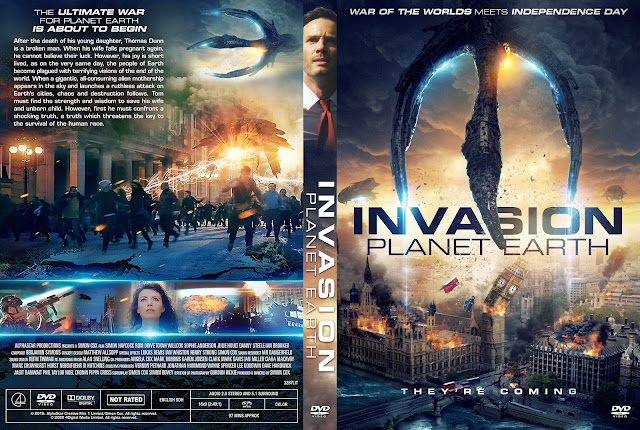 Invasion Planet Earth DVD Cover