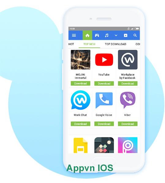 Tải AppVN iOS - Cách Cài AppStoreVN cho iPhone, iPad IOS 11