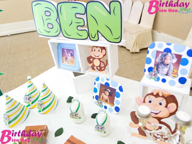 Phụ kiện trang trí sinh nhật ở Biên Hòa