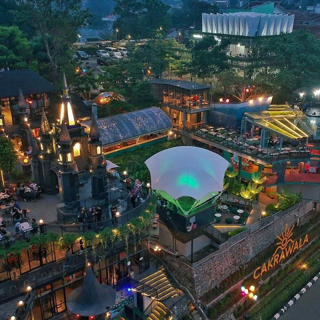Cakrawala Sparkling Nature Restaurant Bandung