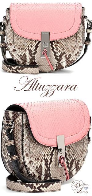 Brilliant Luxury ♦ Altuzzara 'Ghianda Crossbody Bag #pink #rose