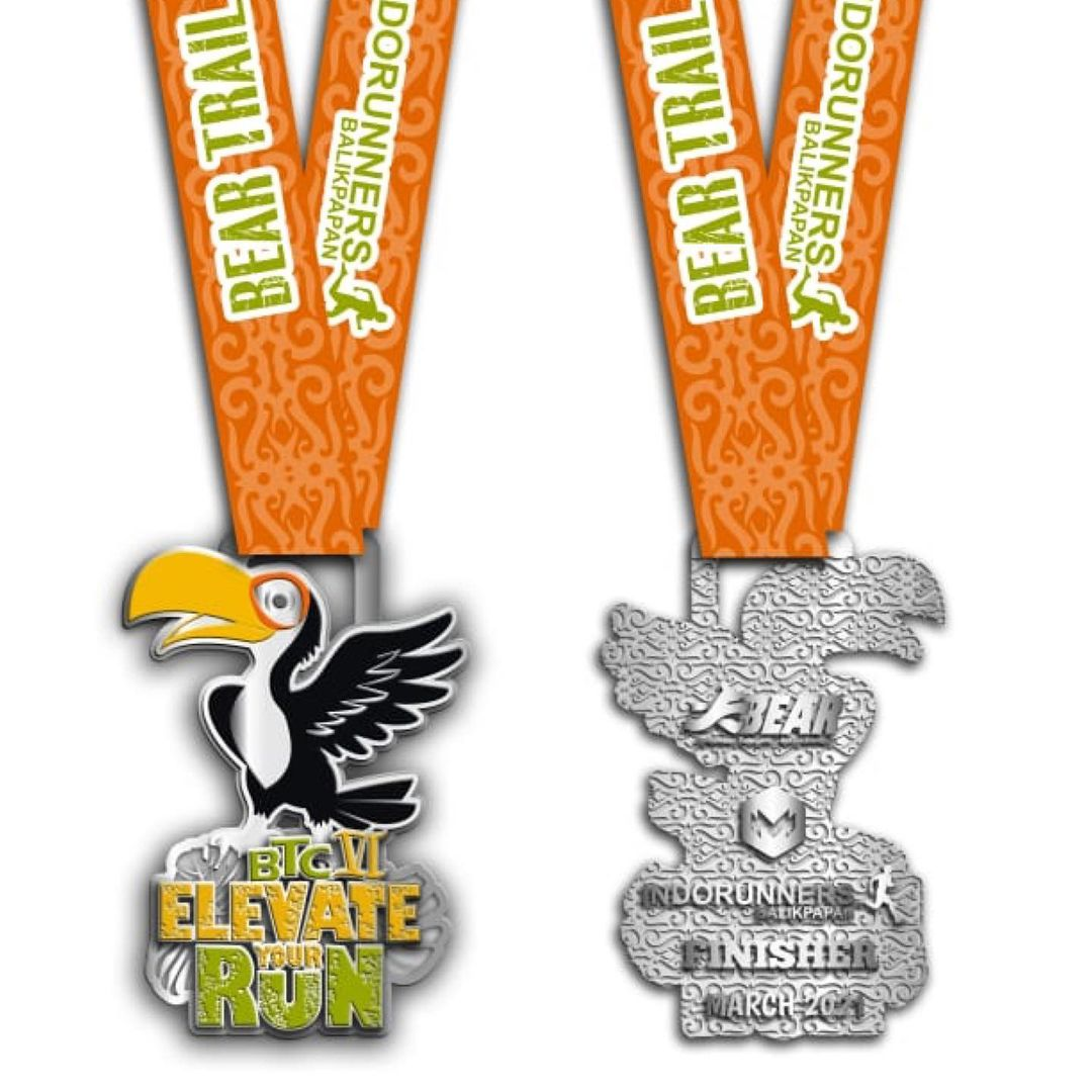 Medali � Bear Trail Challenge VI • 2021