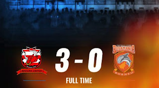 Madura United vs Borneo FC 3-0