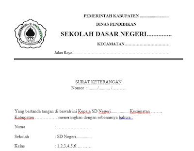 Download Aplikasi SK pengambilan BSM Terbru format Word