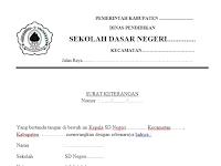 Download Aplikasi SK pengambilan BSM Terbaru format Word