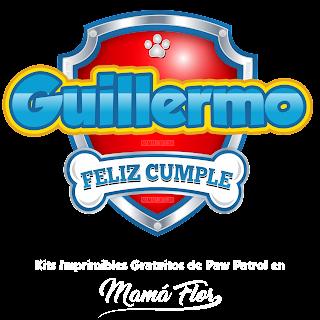 Logo de Paw Patrol: Guillermo