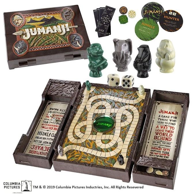 Así es la réplica para coleccionista del juego Jumanji