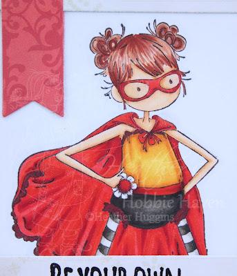 Heather's Hobbie Haven - Hayley the Hero Card Kit