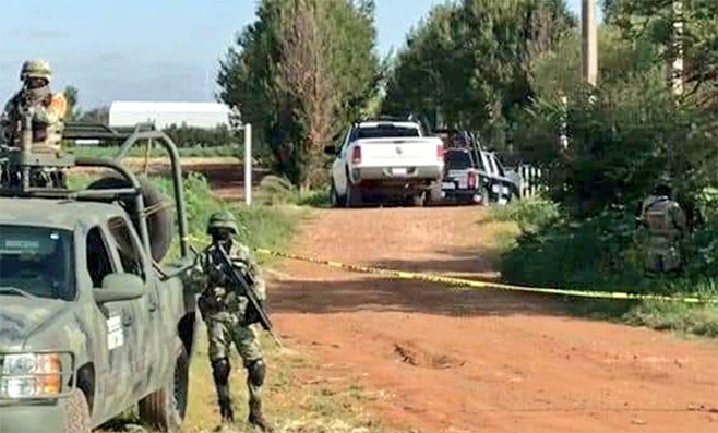 Encuentra los cuerpos de 8 hombres torturados y con el tiro de gracia en Calera; Zacatecas