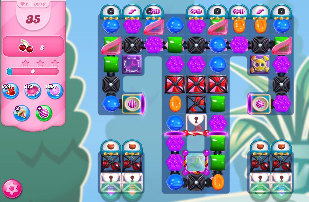 Candy Crush Saga level 8919