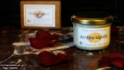 revue ambre vanille bougie créa avis test review