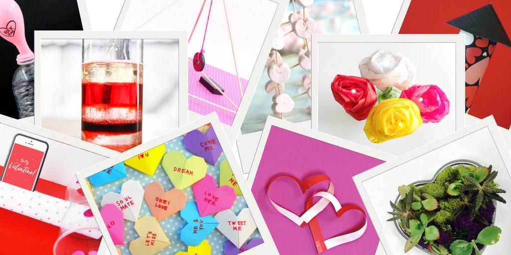 14+ STEAM Activities for Valentine's Day! | Pink Stripey Socks