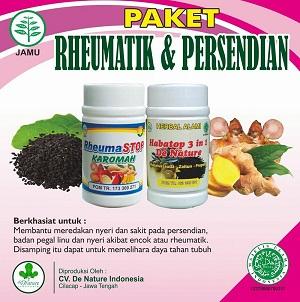 obat reumatik de nature