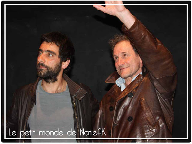 Charif Ghattas   et Francis Lombrail  dans Dépendances au Studio Hébertot