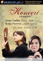 Jasna Nadles i Katja Porovne, koncert, Bol slike otok Brač Online