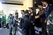 Prajurit Yonif R 514  Kostrad Kunjungi Polres Bondowoso di Hari Bhayangkara ke-75