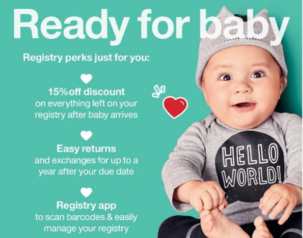 The Target Saver: Target: Create a Baby Registry and get a ...