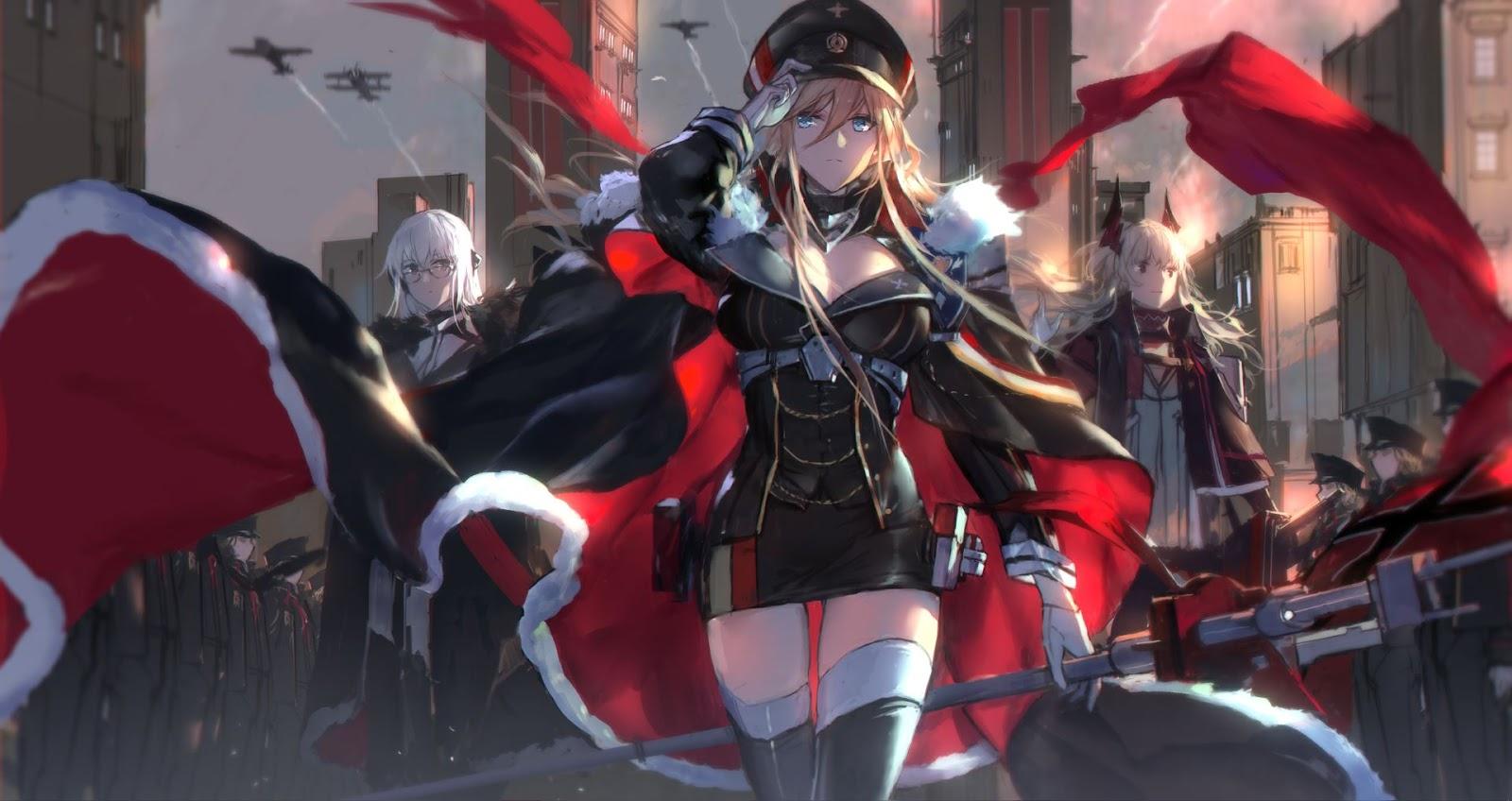 Azur Lane - Bismarck [Wallpaper Engine Anime]