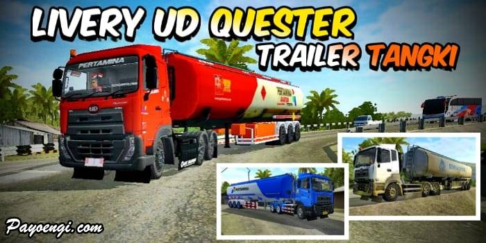 livery ud quester trailer tangki