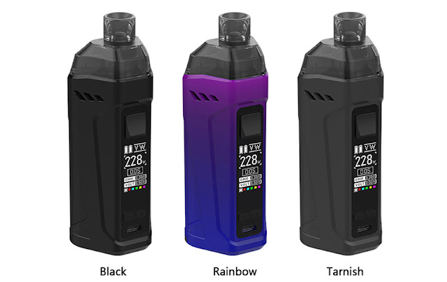 Rincoe Manto Max 228W Kit - Durable and Powerful!
