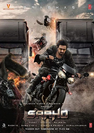 Saaho 2019 Full Movie Download Dual Audio In pDVDRip Tamil Telugu