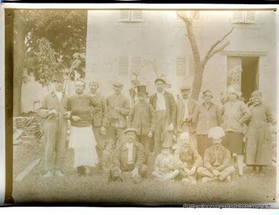 Photo ancienne noir et blanc sur papier citrate Lumière et Jougla.