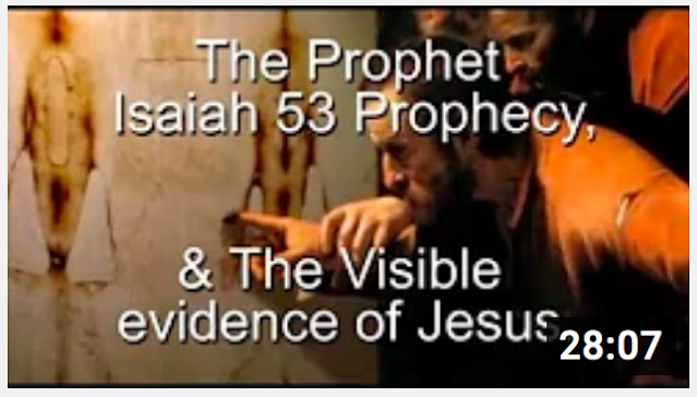 The Visible evidence of Jesus.