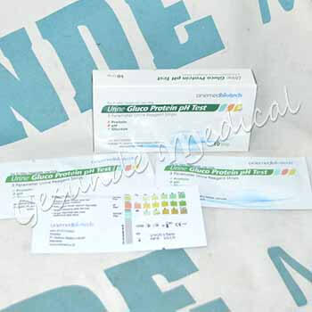 toko urine gluco protein ph test