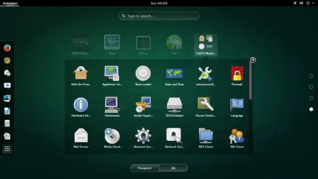 توزيع openSUSE هو توزيعة عامة لنظام Linux تم إنشاؤها بواسطة مشروع openSUSE