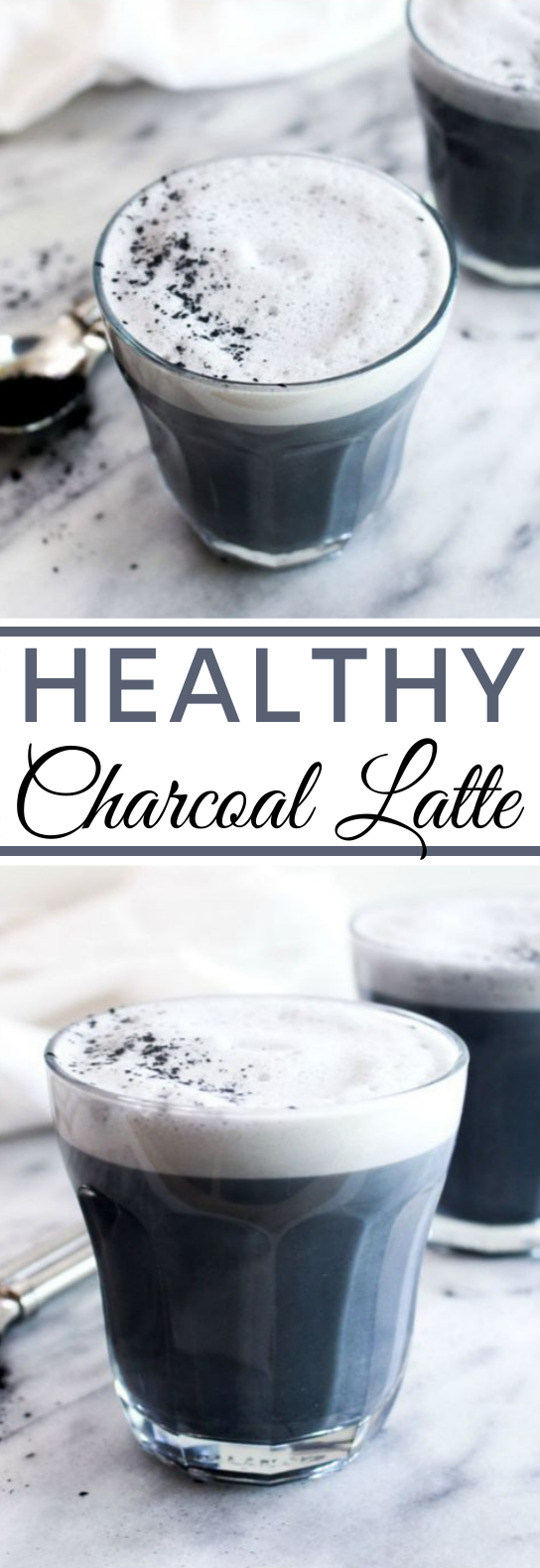 Detox Charcoal Latte #drinks #healthy #latte #warm #paleo