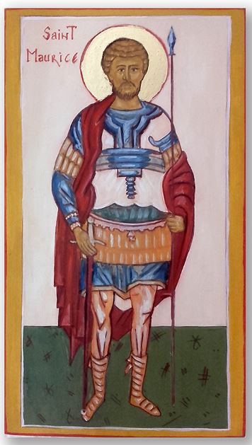 Icône de Saint Maurice