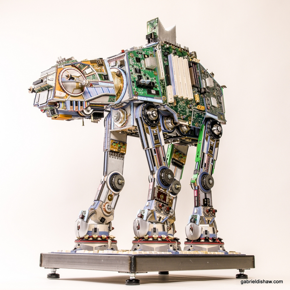 10-Imperial-Walker-AT-AT-Gabriel Dishaw-Star-Wars-Environmentally-Friendly-Upcycling-and-Recycling-www-designstack-co