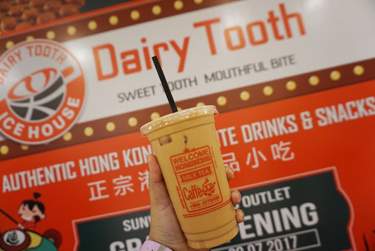 Desserts time di Dairy Tooth, Sunway Pyramid |